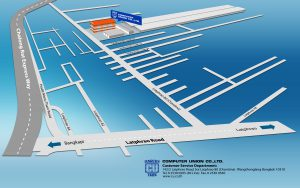 CU Service & Warehouse map